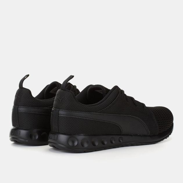 25a8dbd3f58 Shop Black PUMA Carson Dash Running Shoe for Mens by PUMA