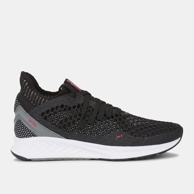 ce64e09303 Shop Black Puma Speed Ignite Netfit Running Shoe for Womens by PUMA ...