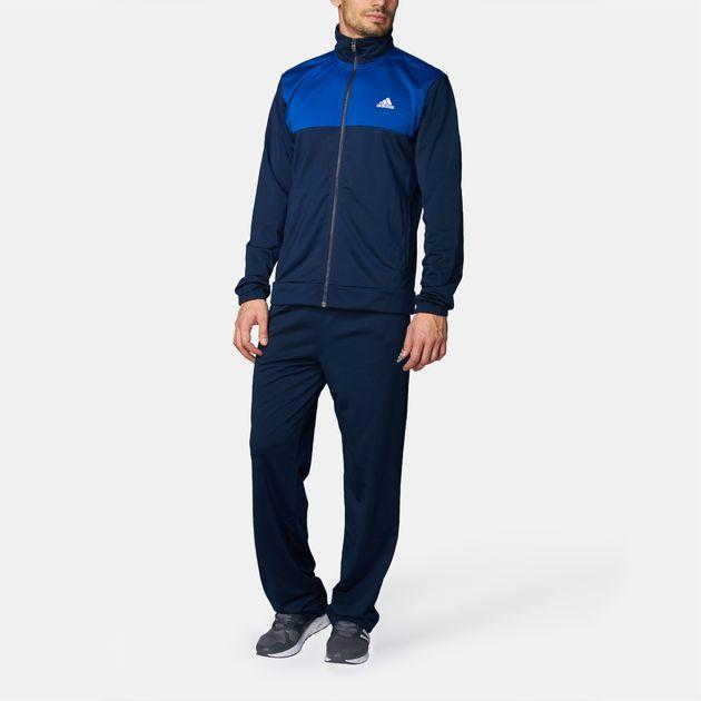 63e6f3af2574 adidas Back To Basics 3 Stripes Track Suit
