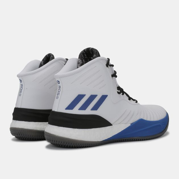 f02d46afc41 Shop White adidas D Rose 8 Basketball Shoe for Mens by adidas