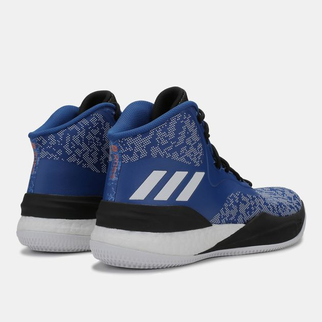 d5dfddf55b03 Shop Blue adidas D Rose Boost Basketball Shoe for Mens by adidas