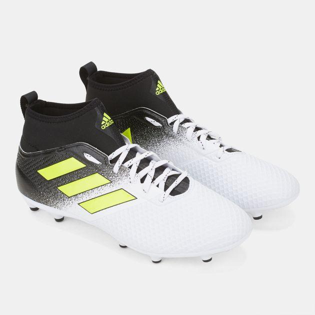 reputable site 524ae e4616 Shop White adidas Ace 17.3 Firm Ground Football Shoe for ...