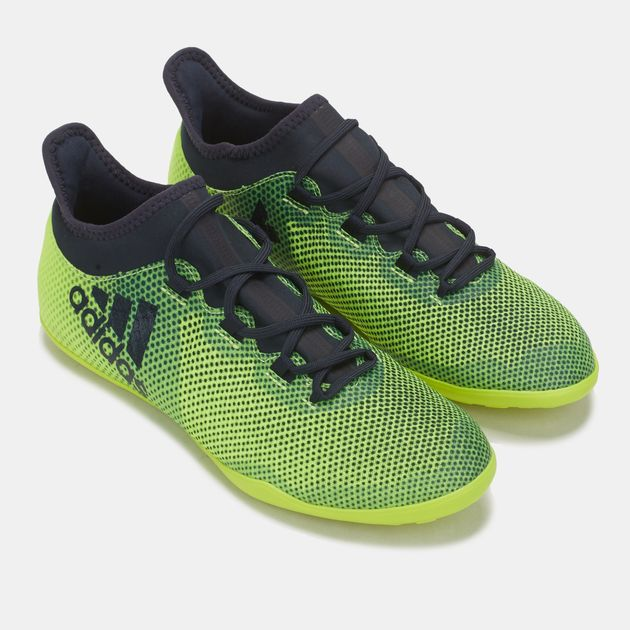 f6269d6d74c Shop Yellow adidas X Tango 17.3 Indoor Football Shoe for Mens by ...
