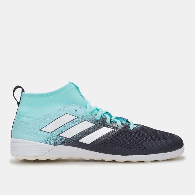f8d506f20d0a Shop Blue adidas Ace Tango 17.3 Indoor Court Football Shoe for Mens ...