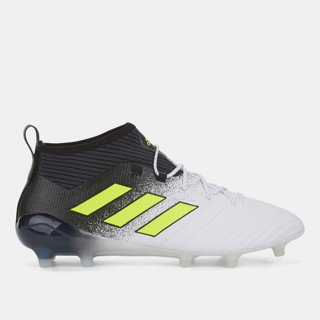 24edb301d1b Shop White Ace 17.1 Firm Ground Football Shoe for Mens by adidas