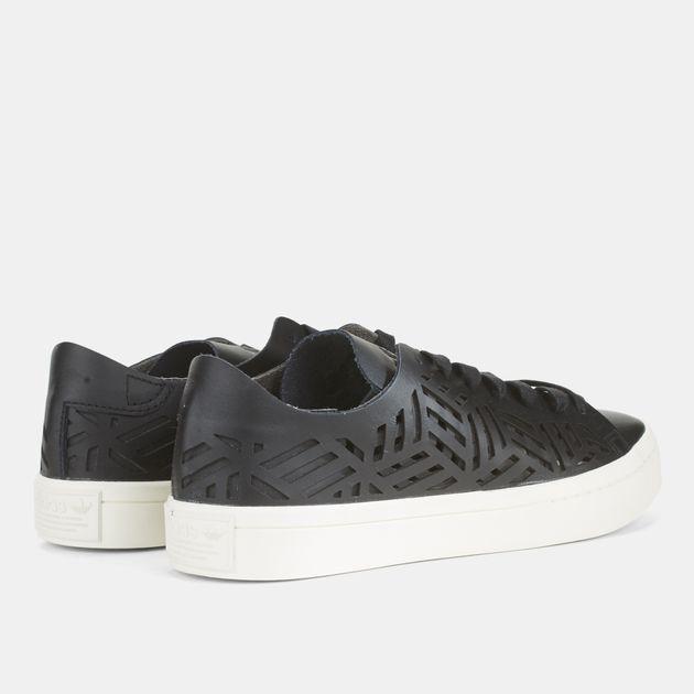 newest 8b109 5cb6b adidas Originals Court Vantage Cutout Shoe, 710583