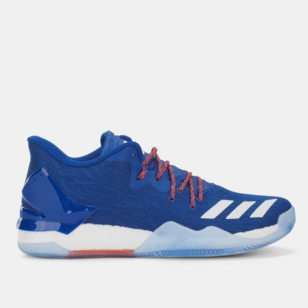 Shop Blue adidas D Rose 7 Low Basketball Shoe for Mens by