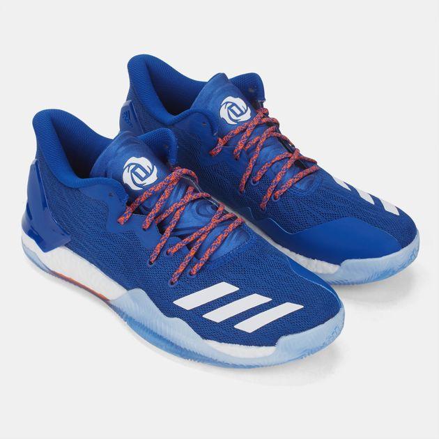 4dfa25e7fd7 Shop Blue adidas D Rose 7 Low Basketball Shoe for Mens by adidas