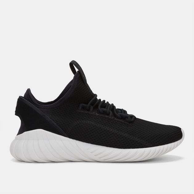 ae203b07901b84 Shop Black adidas Originals Tubular Doom Sock Primeknit Shoe for ...
