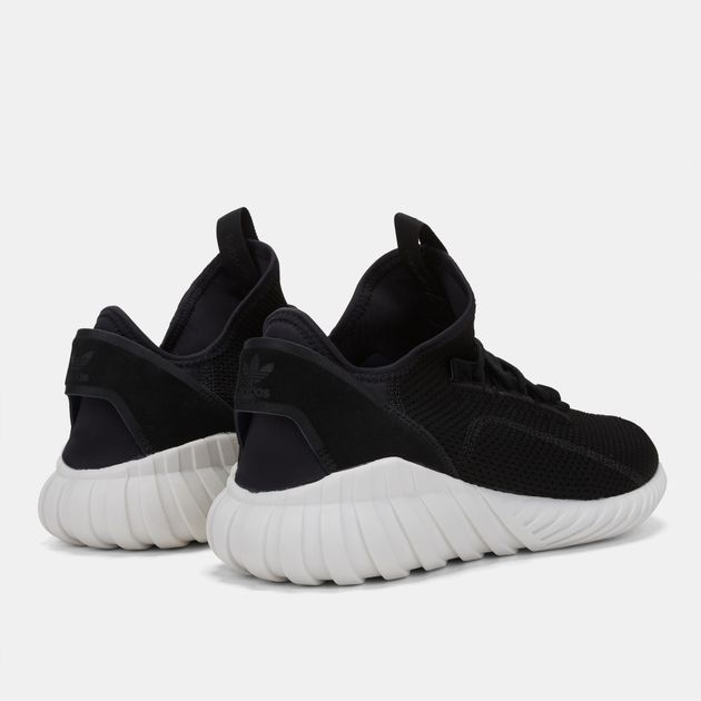 designer fashion 38367 8ac44 Shop Black adidas Originals Tubular Doom Sock Primeknit Shoe ...