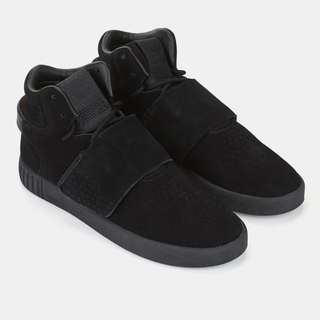 Shop Black adidas Originals Tubular Invader Strap Shoe for Mens by ... a12d06fdf