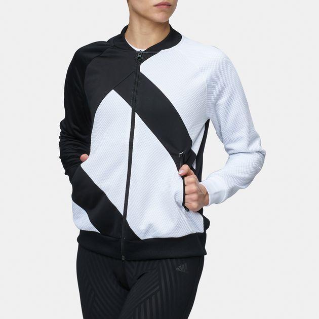 Shop Black adidas Originals EQT SST Track Jacket for Womens