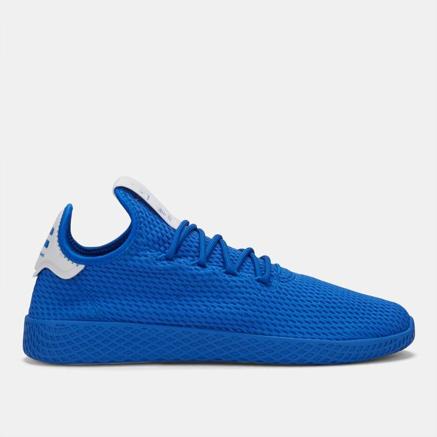f5a6df41b7569 Shop Blue adidas Originals Pharrell Williams Tennis HU Shoe for Mens ...