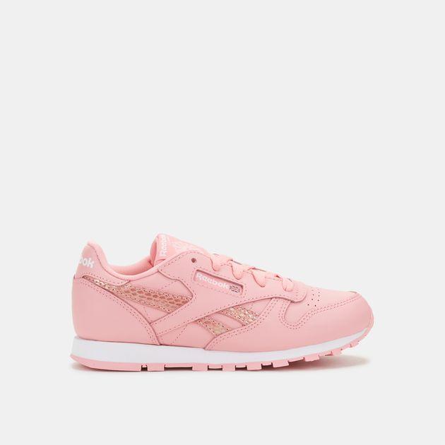 2ad78383cad4e Reebok Kids  Classic Leather Spring Shoe