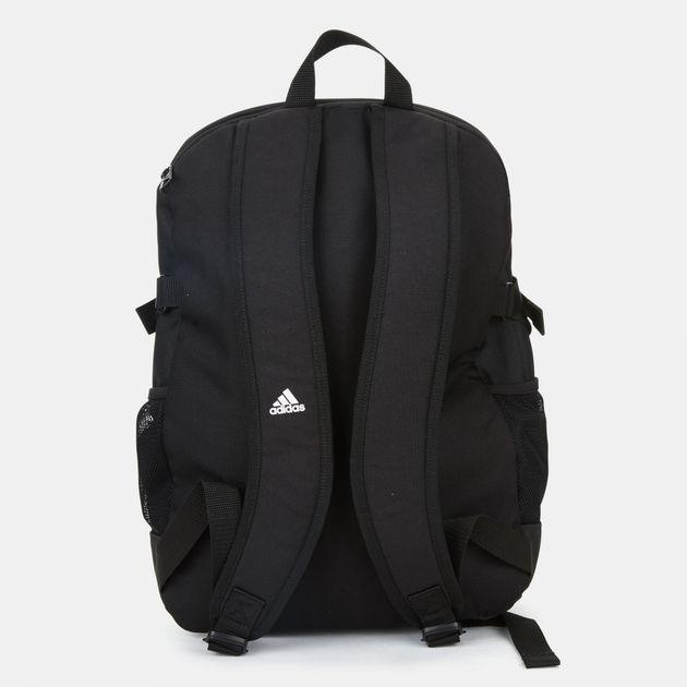186dfc6ad7ec5 تسوق حقيبة الظهر 3-سترايبس باور - قياس متوسط من اديداس للجنسين أسود ...