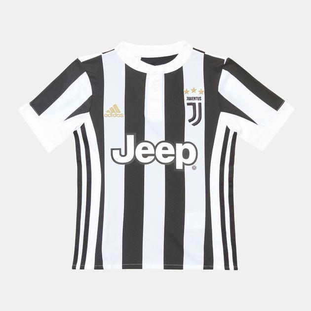 online retailer 1dcb3 5cb95 adidas Kids' Juventus Home Replica Player Jersey   Jerseys ...