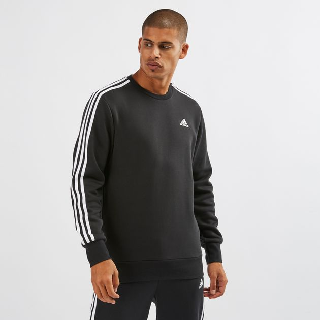 f027bcbacd8 adidas Essentials 3-Stripes Crew Sweatshirt | Sweatshirts | Hoodies ...