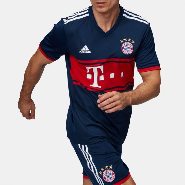 cheaper 12bf0 076fe Shop Red adidas FC Bayern Munich Away Football Jersey for ...