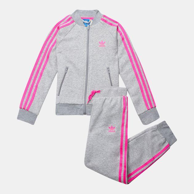 692460c23302 adidas Originals Kids  Heathered SST Track Suit