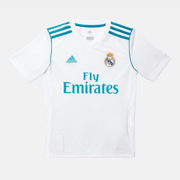 adidas Kids  Real Madrid Home Replica Football Jersey  337429680