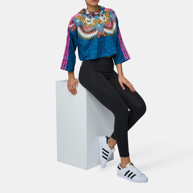 22944f1ffbc Shop Multi adidas Originals Borbomix Hoodie for Womens by adidas ...