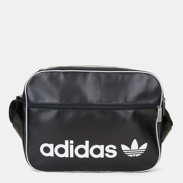 Shop Black adidas Vintage Airliner Bag for Unisex by adidas ... df76a1a84c895