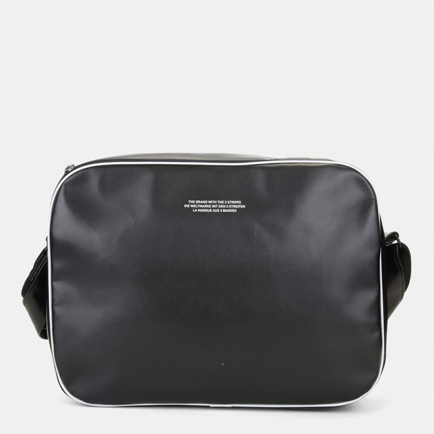 194310f0372e Shop Black adidas Vintage Airliner Bag for Unisex by adidas ...