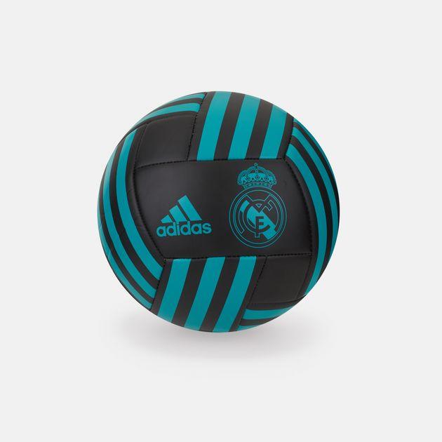 490676025 Shop Black adidas Real Madrid Football for Mens by adidas | SSS