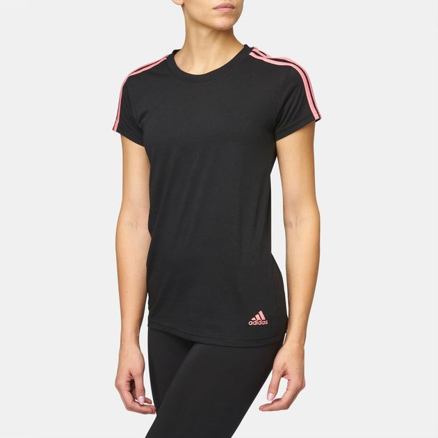adidas Essentials 3-Stripes Slim T-Shirt  0bba950882c3