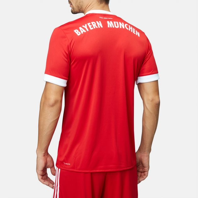 finest selection 968ff db6b7 Shop Red adidas FC Bayern Munich Home Replica Jersey for ...