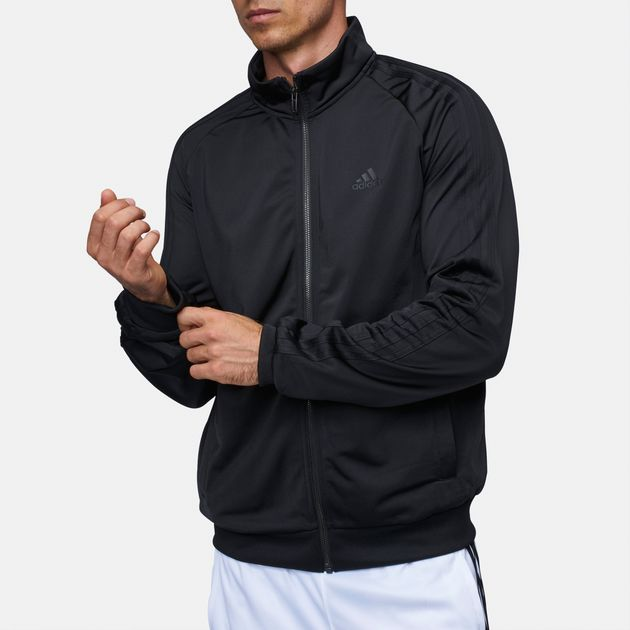 e9b2886f4 Shop adidas Essentials 3-Stripe Tricot Track Jacket for Mens by ...
