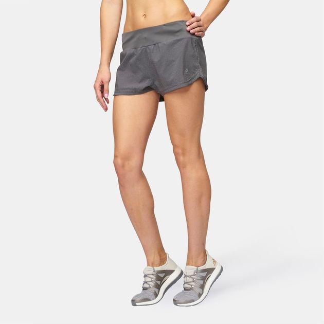 5bcb62334 Shop Grey adidas Supernova Glide Shorts for Womens by adidas