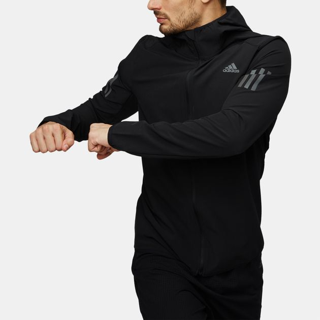 Shop Black adidas Response Shell Jacket for Mens by adidas  88aac7abef
