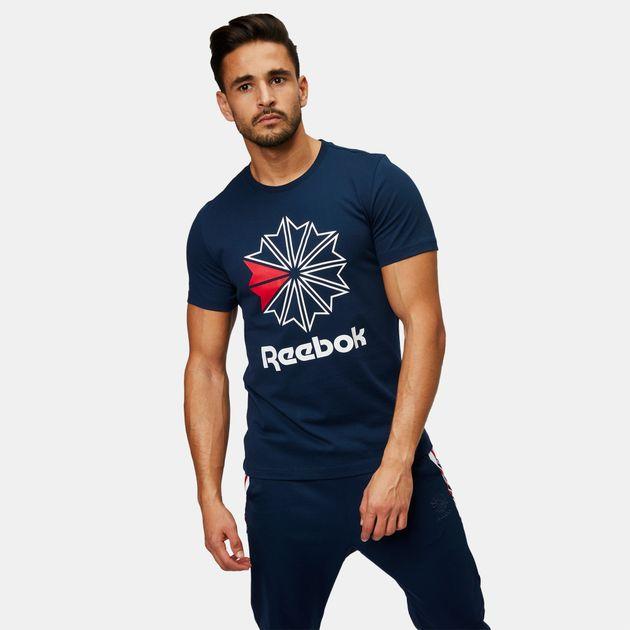 a71d23fa06334 Reebok Classic Big Logo T-Shirt   T-Shirts   Tops   Clothing   Men's ...