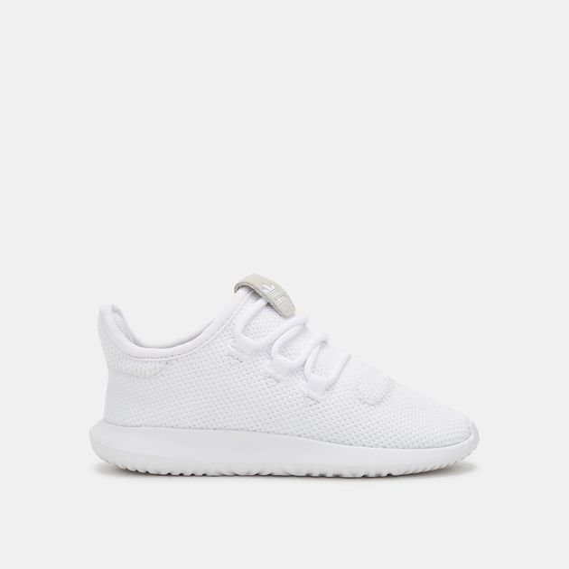 b5ad29a6775f4 Shop White adidas Originals Kids' Tubular Shadow Shoe for Kids by ...