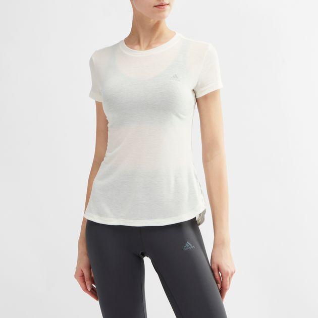 ADIDAS Damen FreeLift Climalite Aeroknit T Shirt