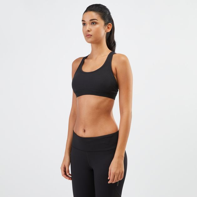 77eee6ba59 Shop Black adidas Alphaskin Tech Padded Sports Bra for Womens by ...