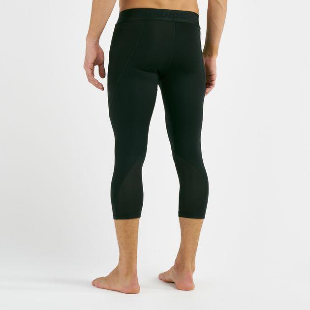 Size L adidas Alphaskin Men/'s Running//Fitness//Yoga//Sports Three Quarter Tights