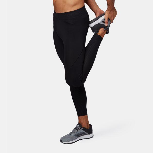 42b9f21310574 Shop Black adidas Alphaskin Tech Long Tights for Mens by adidas | SSS