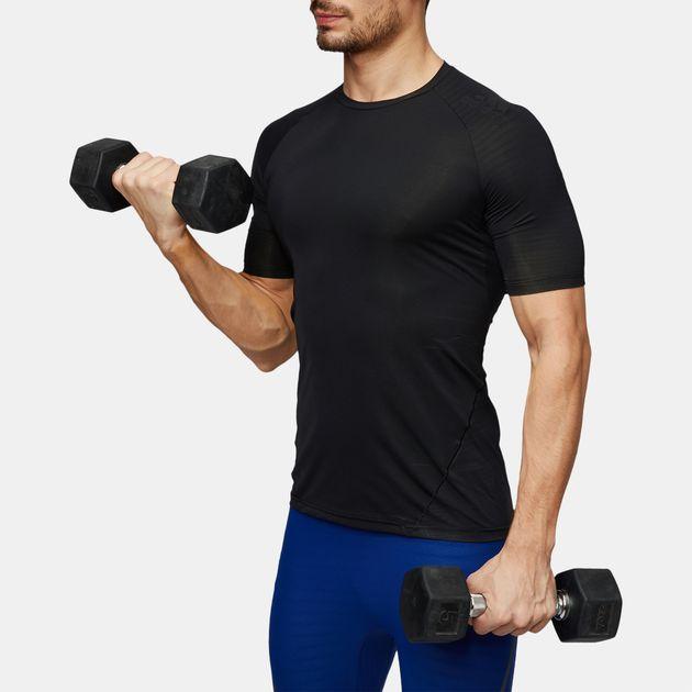 1c4e5b5a9f5a5 Shop Black adidas Alphaskin Tech T-Shirt for Mens by adidas | SSS