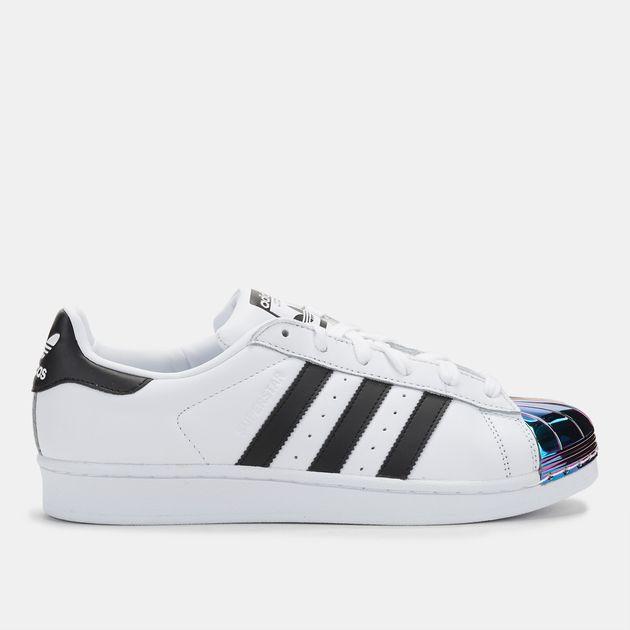 Shop White adidas Originals Superstar Metal