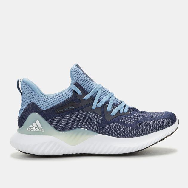 1fe9b7c1c8e46e Shop Blue adidas Alphabounce Beyond Shoe for Womens by adidas