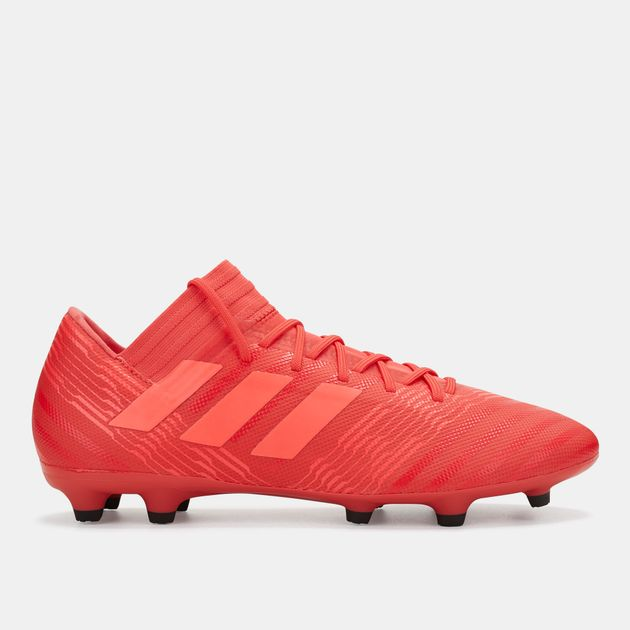 fbfc8769b75c Shop Red adidas Nemeziz 17.3 Cold Blooded Firm Ground Football Shoe ...