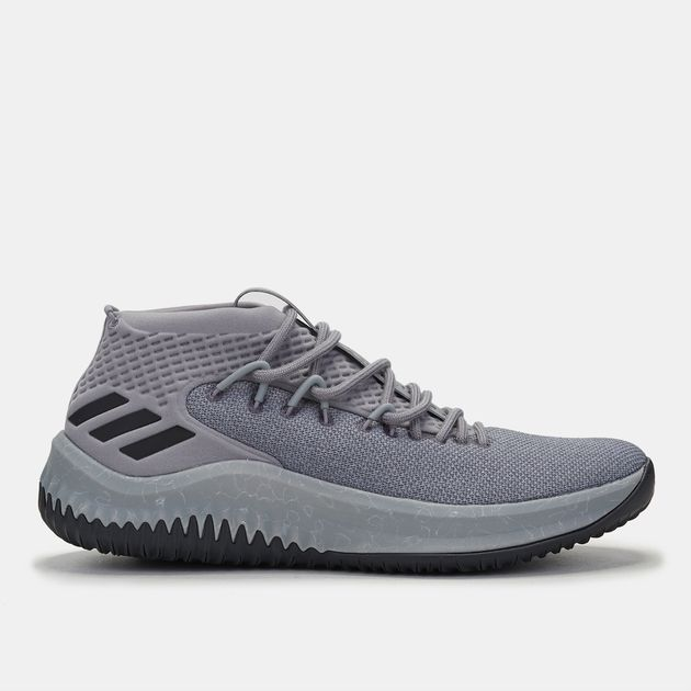 c23c4179b58a9 Shop Grey adidas Dame 4 Crazy Time II Shoe for Mens by adidas
