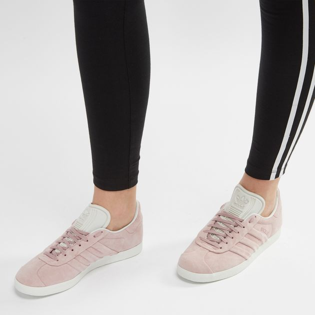 e6e47a80ff91cd Shop Pink adidas Originals Gazelle Stitch and Turn Shoe for Womens ...