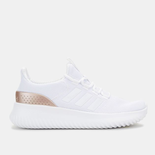 394527d63ad747 Shop White adidas Cloudfoam Ultimate Shoe for Womens by adidas