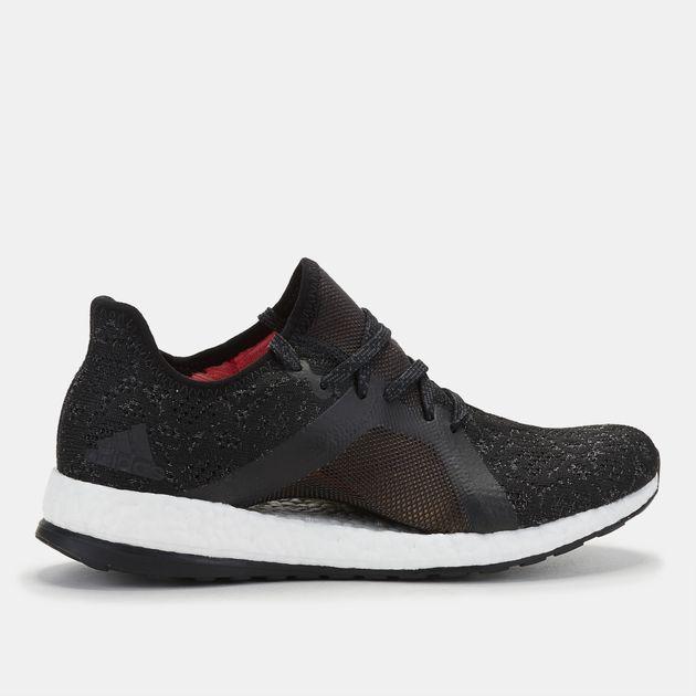 01c28ac762091 Shop Grey adidas PureBOOST X Element Running Shoe for Womens by ...