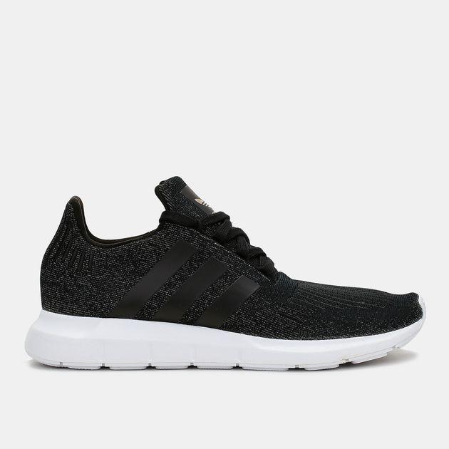 3f58a937d Shop Black adidas Originals Swift Run Shoe for Womens by adidas ...
