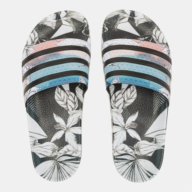da00b3ac5 Shop Multi adidas Originals Adilette Slides for Womens by adidas ...