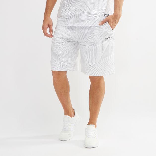 d0ccac6ce13d4 Shop White adidas Originals NMD Shorts for Mens by adidas Originals ...